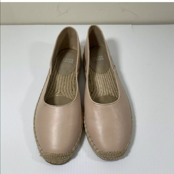 EILEEN FISHER Flats Slip-On Espadrilles Shoes 8